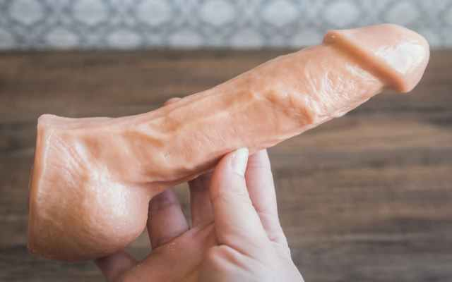 realistic dildo that looks just like a real penis